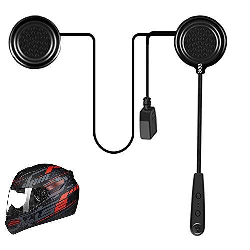 EJEAS E1 Casco de Motocicleta Bluetooth 4.1 Los Auriculares...