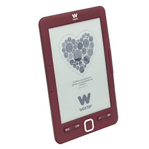 Woxter E-Book Scriba 195 Red - Lector de Libros...