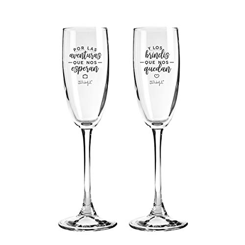 Mr. Wonderful Dos copas para parejas que se quieren con...