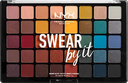 NYX Professional Makeup Paleta de sombra de ojos Swear By It...