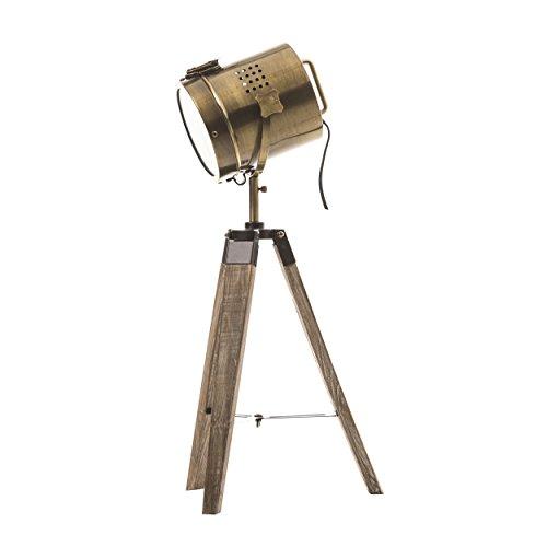 Lámpara proyector, diseño vintage y retro de metal tipo...