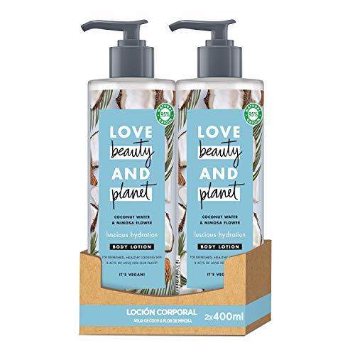 Love Beauty and Planet Luscious Hydration Loción agua de...