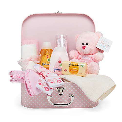 Baby Gift Set - Pink Hamper Full of Baby Products in Baby...