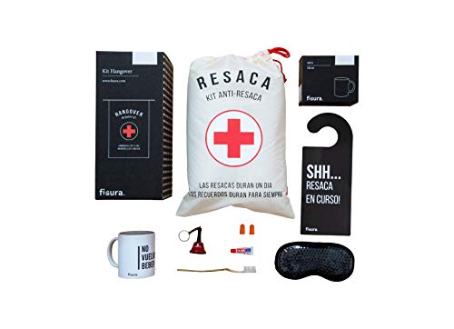 Fisura | Kit de Resaca con Taza No vuelvo a Beber,...