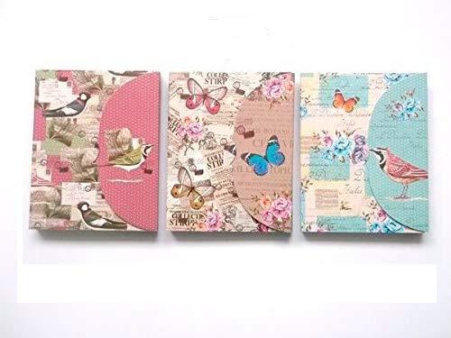 Lote 24 Bloc de Notas con Bolígrafo'Butterfly' - Detalles,...