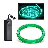 Aogbithy EL Wire, Neon Glowing Strobing...