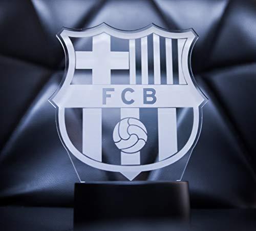 3D Lamparas Oficial Escudo del FC Barcelona Lámpara...