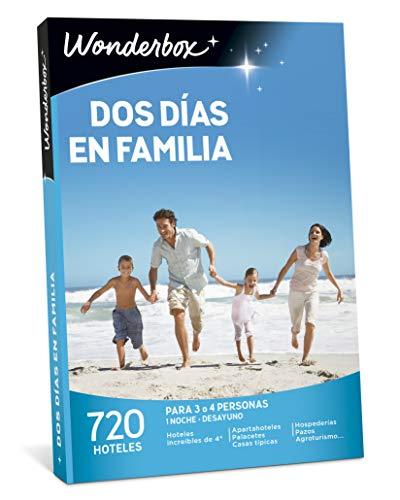 WONDERBOX Caja Regalo -Dos DÍAS EN Familia- 720 hoteles...