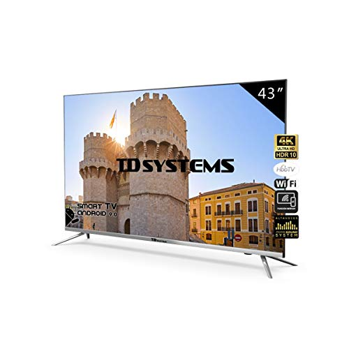 Televisores Led TD Systems (50 Pulgadas UHD) (43 Pulgadas...