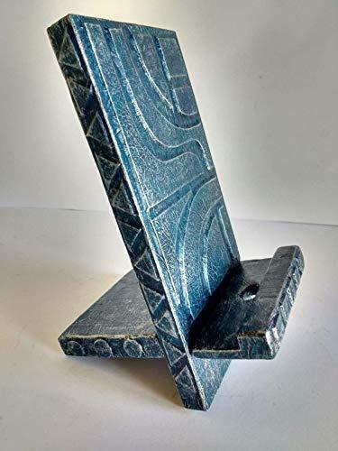 Soporte para móvil de madera reciclada de palet, decorados...