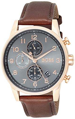 Hugo Boss Reloj Cronógrafo para Hombre de Cuarzo con Correa...