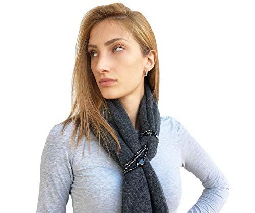 Chale Estola Mujer Invierno 100% Cachemire - Made in Italy