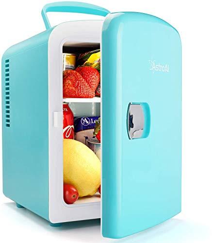 AstroAI Mini Refrigerador, Mini Nevera Portátil para el...