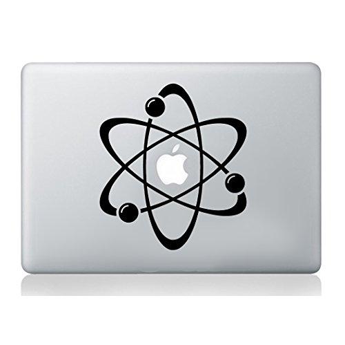 Átomo pegatina de portátil macbook decal art manzana...