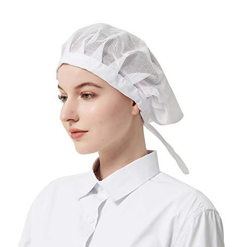Cityelf Gorro de Cocinero Ajustable Sombrero para cocinar y...