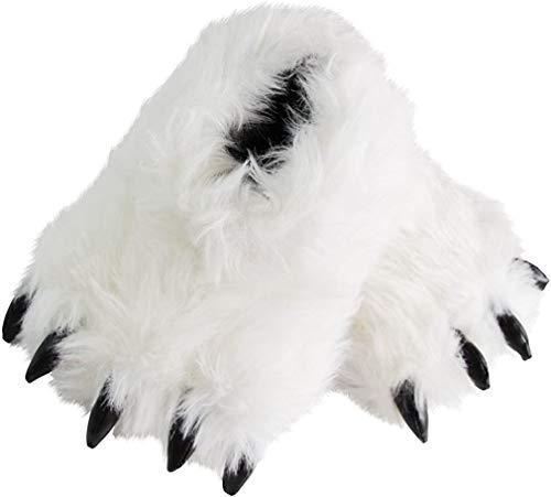 Caramella Bubble Zapatillas de pata de oso con diseño de...