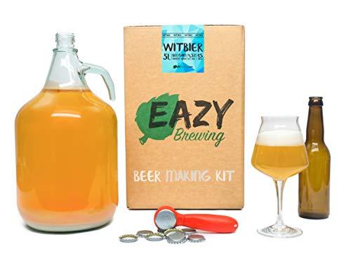 Eazy Brewing®Kit de elaboración de cerveza de 5 litros -...