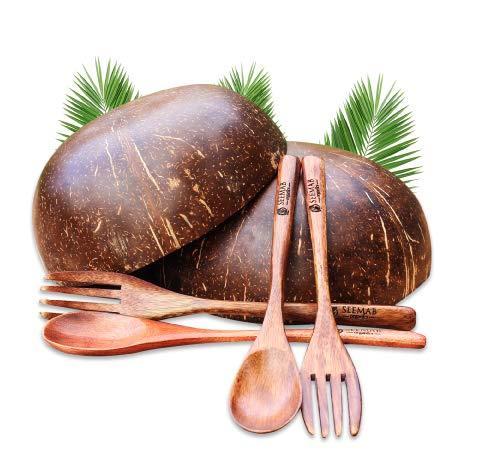 Tazón de coco, 100% natural y ecológico, apto para...