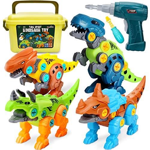 Dreamon Dinosaurios Juguetes para Niños con Caja de...