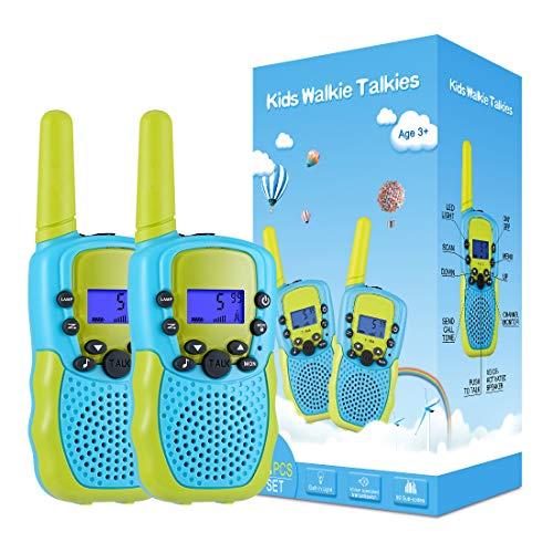 Kearui Juguetes para Niños de 3-8 Años,Walkie Talkie para...