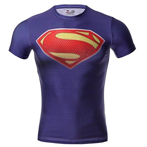 Camiseta de compresión para hombre de Cody Lundin, con...