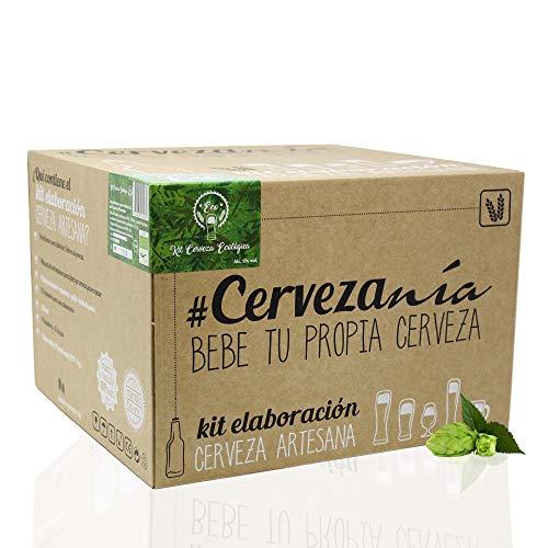 #Cervezanía - Kit de elaboración de cerveza artesana...