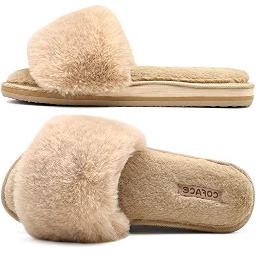 Coface Zapatillas de Estar Mujer Invierno Zapatos de Casa...