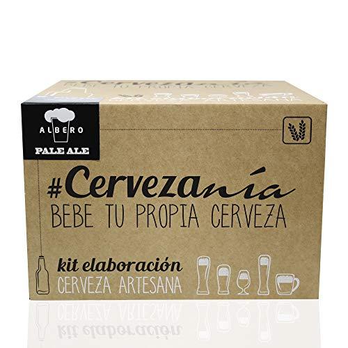 #Cervezanía - Kit de elaboración de cerveza rubia Pale Ale...
