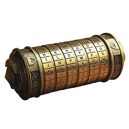 ANBIWANGLUO Código Da Vinci Mini Cryptex Regalo de...