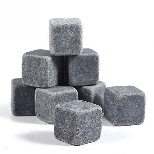 Piedras De Granito Para Whisky. Cubos De Hielo Reutilizables...
