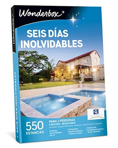 WONDERBOX Caja Regalo - Seis DÍAS INOLVIDABLES - 550...