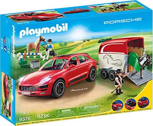 PLAYMOBIL Sports & Action Porsche Macan GTS con Efectos de...