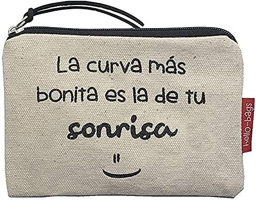 Hello-Bags Bolso Monedero/Billetero/Tarjetero. Algodón...