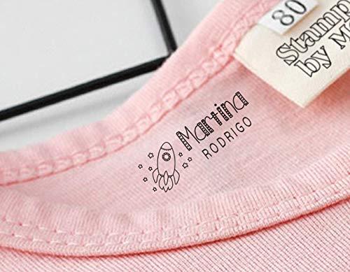 Sello marcador ropa personalizado niños Elige entre 9...