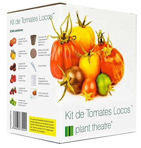 Plant Theatre Kit de Tomates Locos - 6 variedades extrañas...