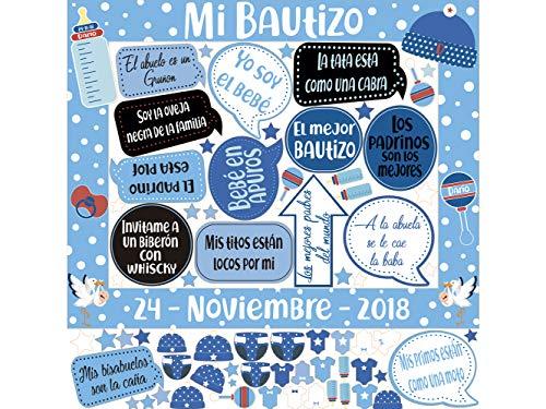 Photocall Mi Bautizo Atrezzos Personalizado Eventos o...