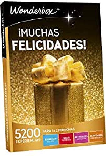 WONDERBOX Caja Regalo -¡Muchas FELICIDADES!- 5.200...