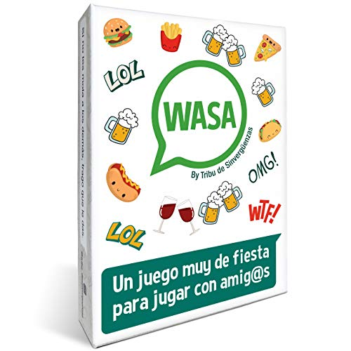 TRIBU DE SINVERGÜENZAS 🤣 WASA 🤣 – Juego de Mesa -...