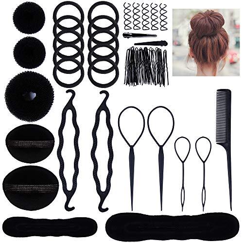 Lictin Accesorios de Peinado Kit Set para Mujeres; Set de...
