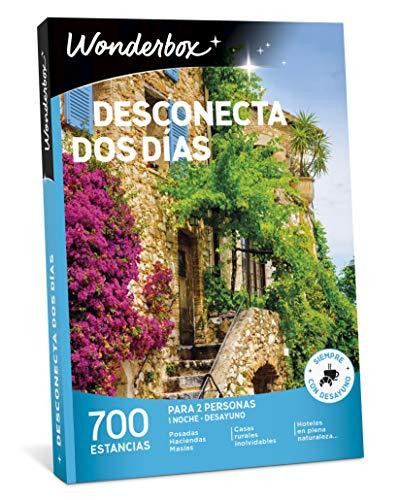 WONDERBOX Caja Regalo -DESCONECTA Dos DÍAS- 700 estancias...