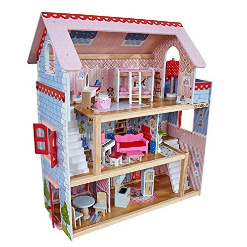 KidKraft 65054 Casa de muñecas de madera Chelsea Doll...