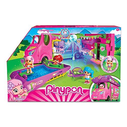 Pinypon Cool Caravan - Set de Juguete y Accesorios...