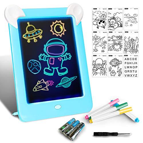 LAPPAZO Tableta de Dibujo Pizarra 3D Mágico con Luces LED...
