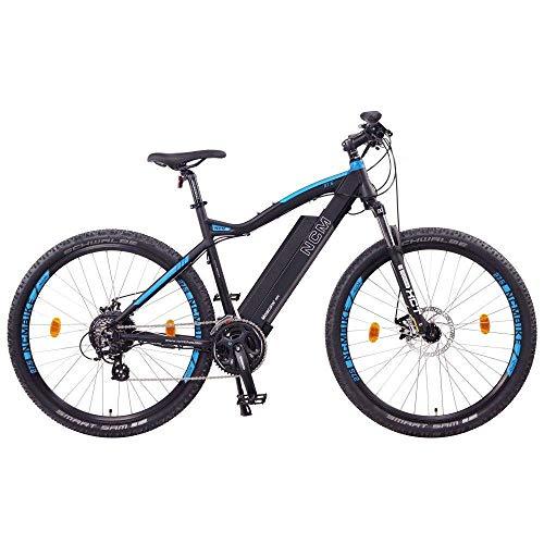NCM Moscow Bicicleta eléctrica de montaña, 250W, Batería...