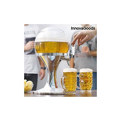 InnovaGoods Ball Dispensador de Cerveza Refrigerante, PMMA,...