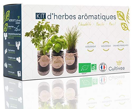 Cultivea Kit completo de hierbas - Cultiva tus propias...