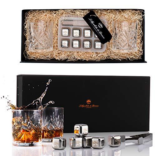 Juego de Vasos de Whisky de Lujo para Regalo por Lillywhite...