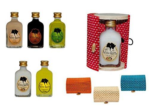 Lote de 15 Botellas de Licor Minis (Surtidas) en Cajas de...