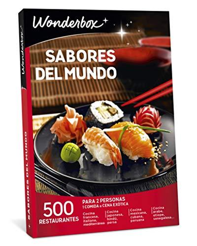 WONDERBOX Caja Regalo -SABORES del Mundo- 500 restaurantes...