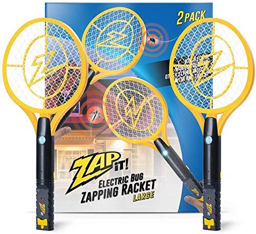 ZAP IT! Bug Zapper - Mosquito Recargable, Fly Swatter/Killer...